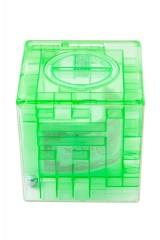 Копилка-головоломка Зеленая