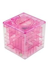 Копилка-головоломка Розовая
