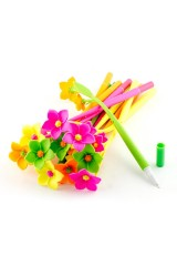 Набор мягких ручек Цветы