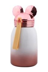 Термос Мышонок розовый