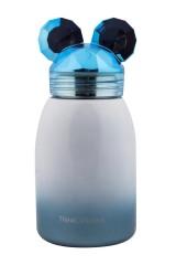 Термос Мышонок синий