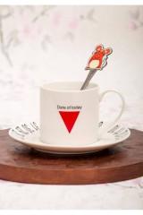 Чашка с блюдцем Твой удачный день 2020