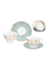 Чайный набор Королевский узор на голубом