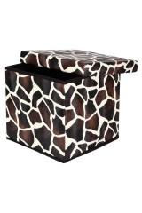 Пуф складной с ящиком для хранения Жираф