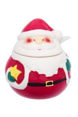 Баночка для специй новогодняя Дед Мороз