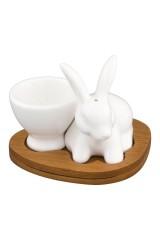Подставка под яйцо Белый кролик