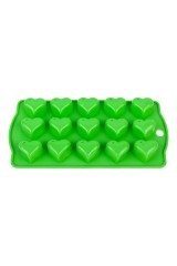 Форма силиконовая для шоколадных изделий и льда Сердечки