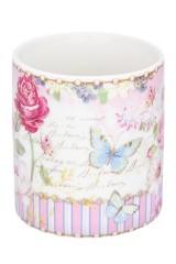 Кружка - подарок Цветочная розовая нежность