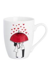 Кружка Влюбленные под зонтом