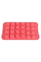 Форма силиконовая для шоколадных изделий и льда Микс