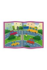 Книжка- картинка с многоразовыми наклейками В ДОМЕ И НА УЛИЦЕ