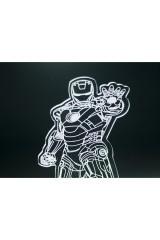 3D светильник Iron man