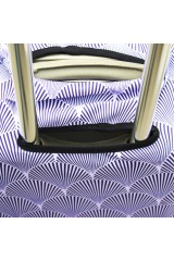 Чехол для чемодана Фиолетовая акула XL
