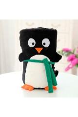 Плед новогодний Пингвин