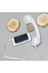 Трубка телефонная CRUZ глянцевая белый