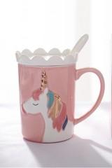 Кружка Unicorn розовый