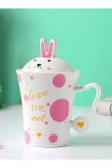 Кружка Pink rabbit