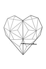 Панно-полка Сердце