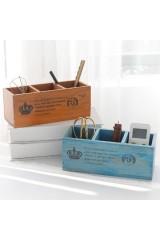 Деревянный органайзер Ящик
