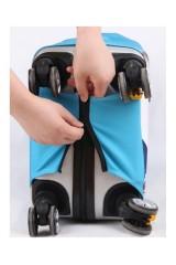 Чехол для чемодана Единорог