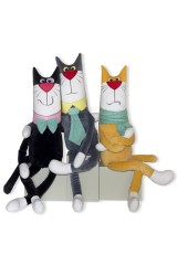 Антистрессовая игрушка Кот-джентльмен