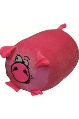 Антистрессовая подушка-валик Свинка