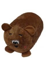 Антистрессовая подушка-валик Медведь