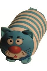 Антистрессовая игрушка-валик Полосатый кот
