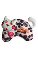 Антистрессовая игрушка-подушка Сладенький кот - шоколад