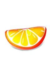 Антистрессовая подушка-долька Апельсин