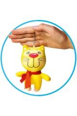 Антистрессовая игрушка-брелок Котик