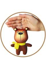 Антистрессовая игрушка-брелок Мишка