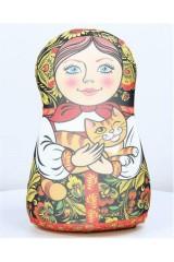 Антистрессовая игрушка-подушка «Матрешка»