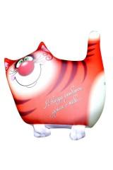 Антистрессовая игрушка-подушка Рыжий кот