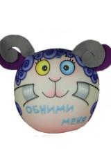 Антистрессовая игрушка-подушка Барашек