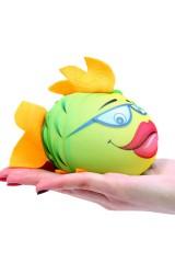 Игрушка, растущая в воде Зеленая рыбка