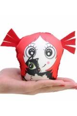 Игрушка, растущая в воде Девочка с котом