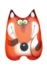 Антистрессовая игрушка-подушка Лисичка Алёнушка
