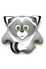Антистрессовая игрушка-подушка Енот Тимоха (маленький)