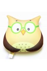 Антистрессовая игрушка-подушка «Сова»