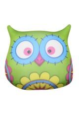 Антистрессовая игрушка-подушка Сова