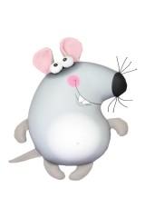 Антистрессовая игрушка-подушка Мышь