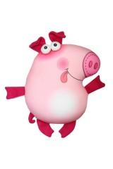 Антистрессовая игрушка-подушка Свинья