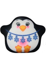 Антистрессовая подушка-плюшка Пингвин