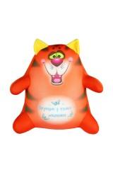 Антистрессовая игрушка-подушка «Котик Обормотик»