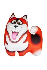Антистрессовая игрушка-подушка Хаски