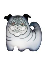 Антистрессовая игрушка-подушка Мопсик