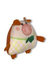 Антистрессовая игрушка Хрюн с бантом