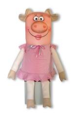 Антистрессовая игрушка Хрюшка Олечка