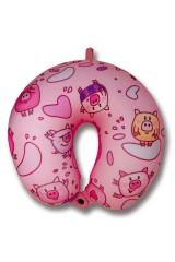Антистрессовая подушка для шеи Мульти-свинка
